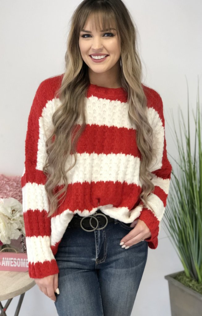 French Kiss Sweater - ShopSpoiled