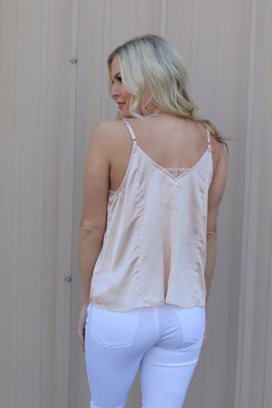 Seek Me Out Cami: Blush - ShopSpoiled