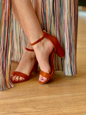 Alondra Heels: Rust - ShopSpoiled