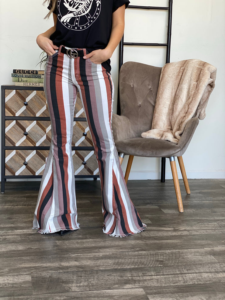 Makenna Flare Jeans - ShopSpoiled