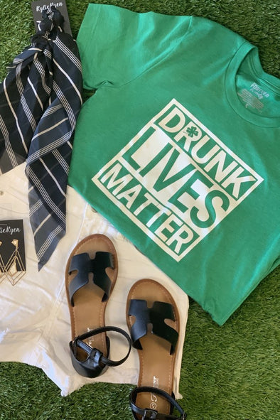 Drunk Lives Matter Graphic Tee - ShopSpoiled
