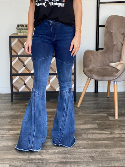 Teagan Flare Jeans - ShopSpoiled
