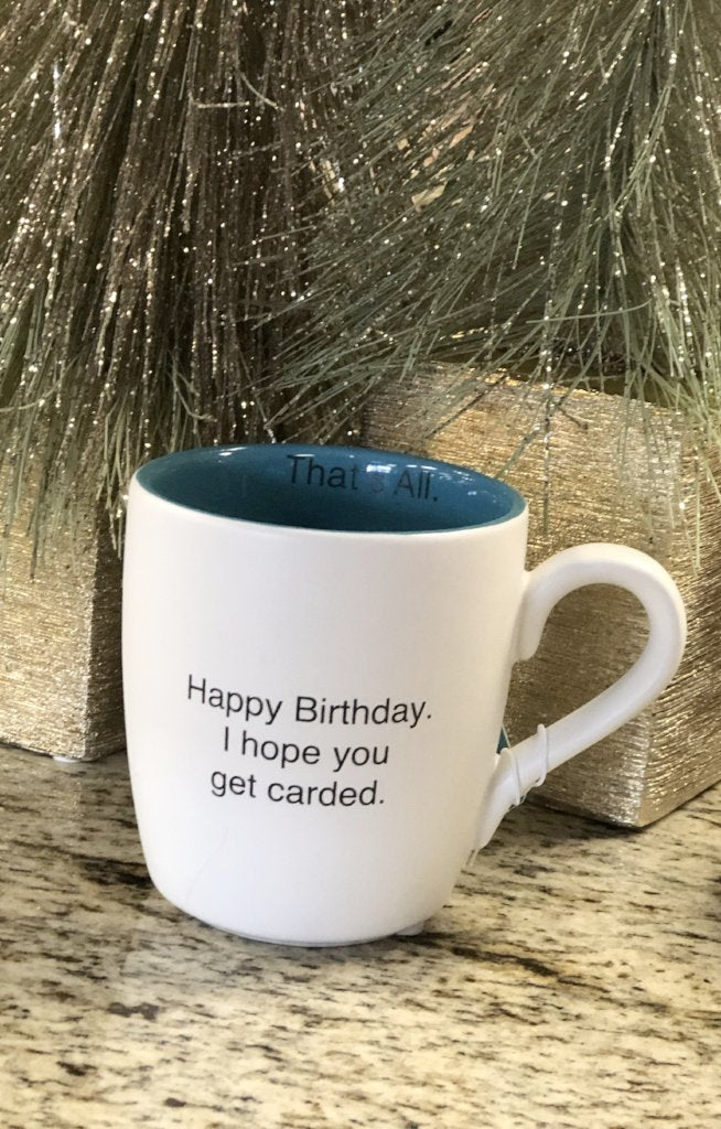 Happy birthday coffee mug - ShopSpoiled