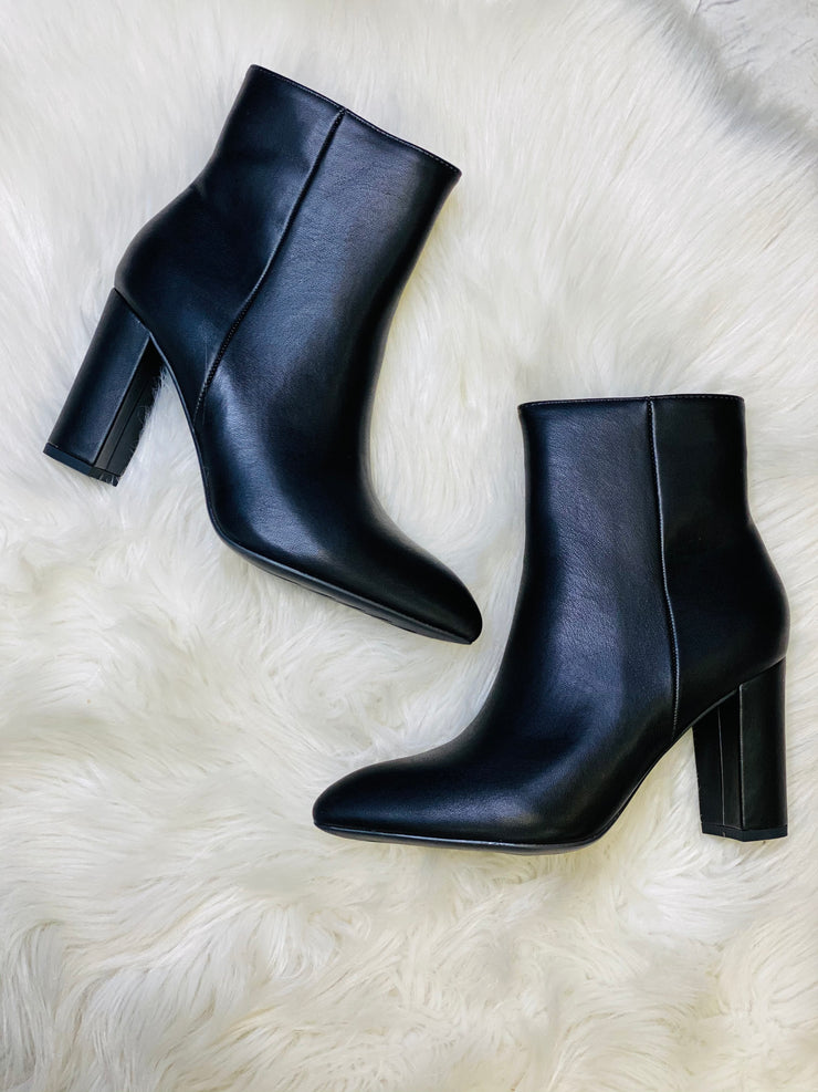 Brazil Booties: Black - ShopSpoiled