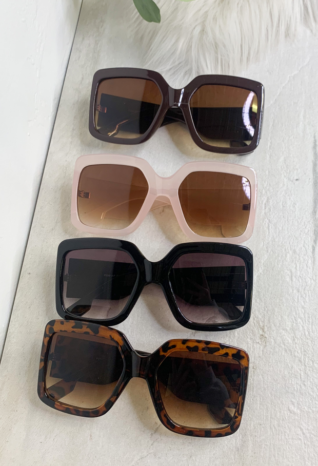 Be Square Sunglasses - ShopSpoiled