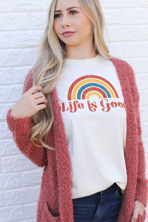 Life Is Good Tee - ShopSpoiled