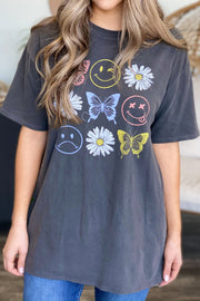 Butterflies & Flowers Tee - ShopSpoiled