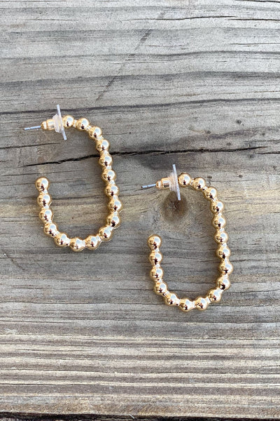 Trendy Twist Hoop Earrings - Shop Spoiled Boutique