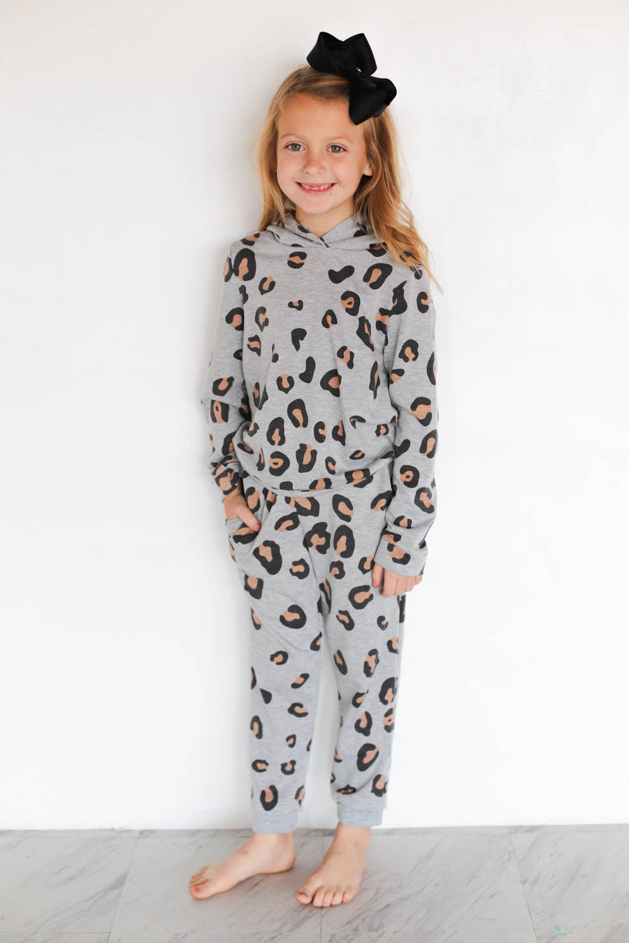 Kids Leopard print joggers - ShopSpoiled
