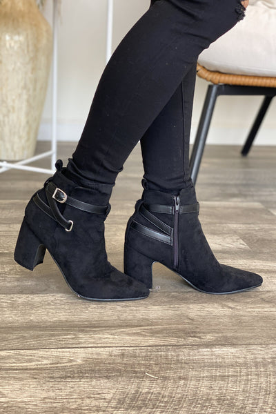 Ariana Bootie: Black - ShopSpoiled