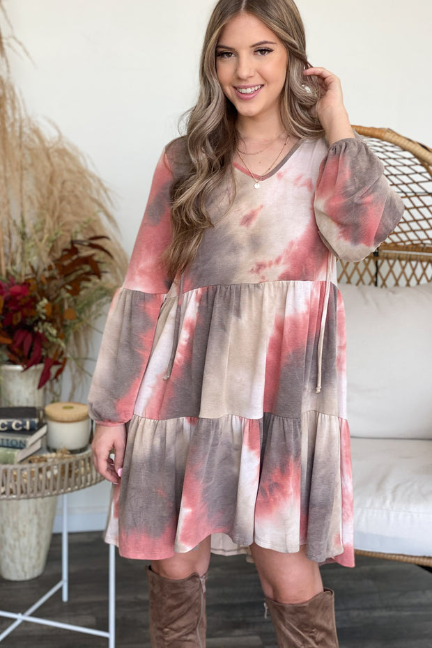 Admire You Tie Dye Dress - ShopSpoiled