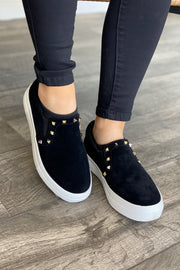 Kenley Studded Sneakers - ShopSpoiled