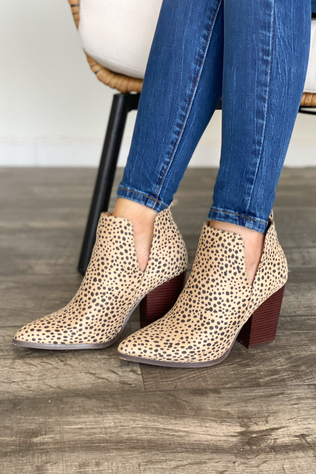 Celeste Booties: Cheetah - ShopSpoiled