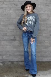 Wild And Free Pullover - ShopSpoiled