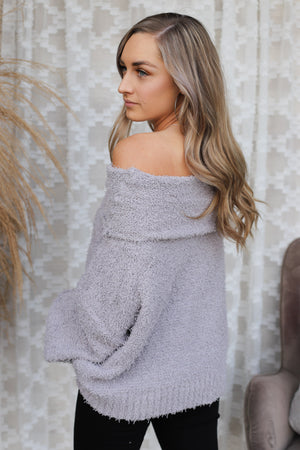 lily Sweater: Grey - ShopSpoiled