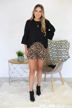 Swanky Leopard Shorts - ShopSpoiled
