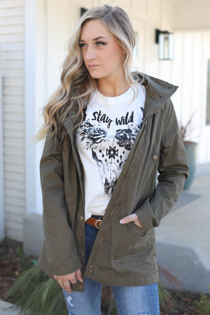Stay Wild Tee - ShopSpoiled