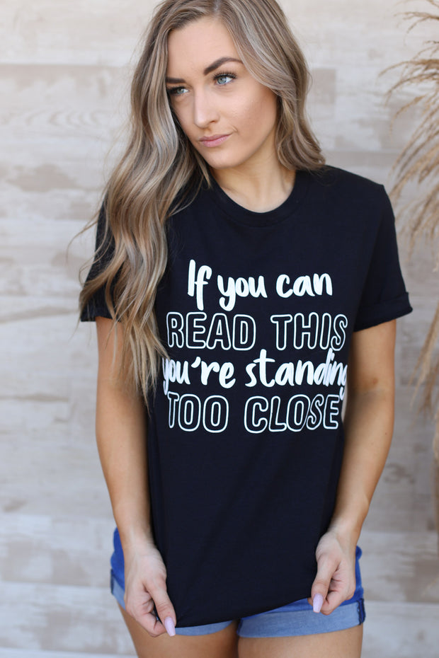 If you can read this tee - ShopSpoiled