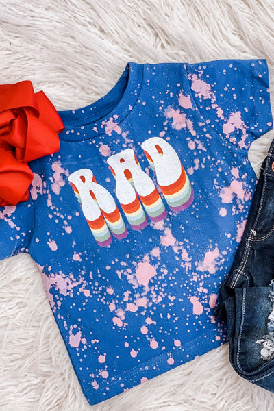 Kids Rad Tie Dye Tee - Shop Spoiled Boutique