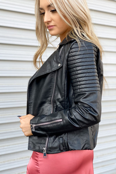 Rock and Love Leather Jacket - ShopSpoiled