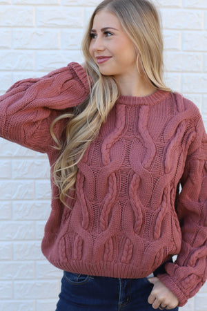 Something On Your Mind Sweater - ShopSpoiled