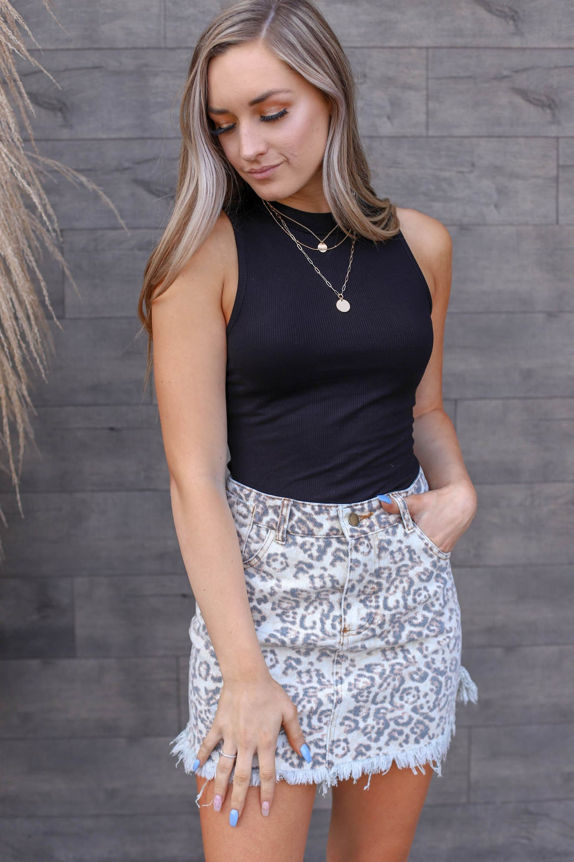 Drive you Wild Leopard Skirt - ShopSpoiled