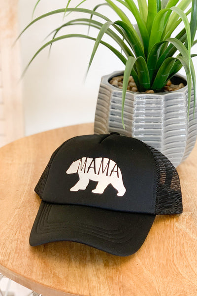 Mama Bear Trucker Hat - ShopSpoiled