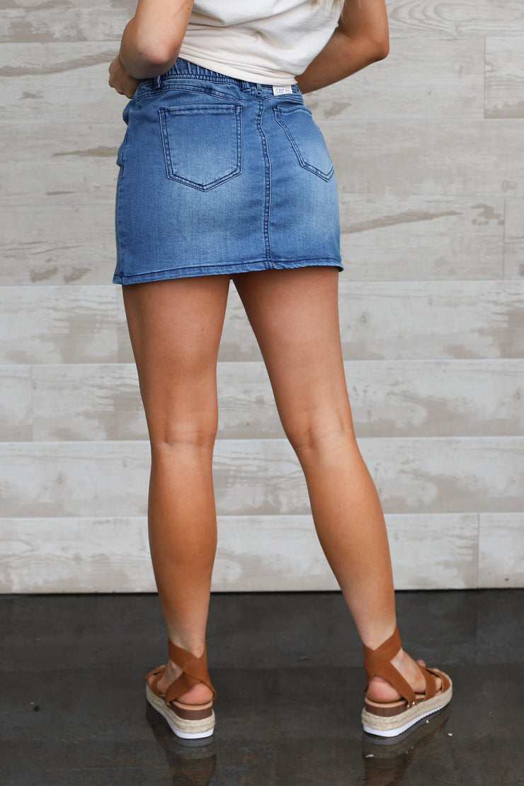 Leila Mini Skirt - ShopSpoiled