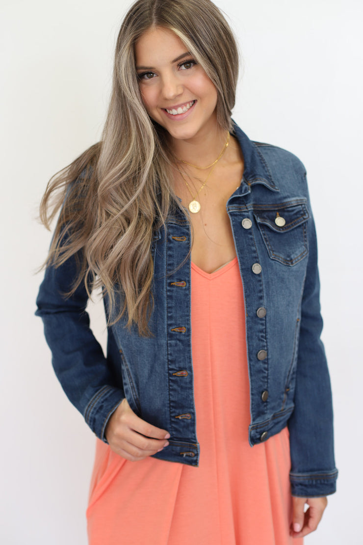 Cayla Denim Jacket - ShopSpoiled