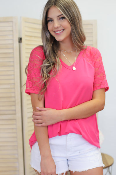 Summer Bliss Top: Pink - ShopSpoiled