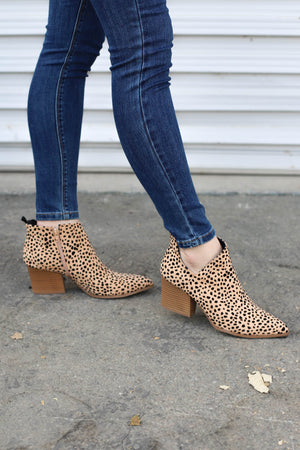 Nala Booties: leopard - ShopSpoiled