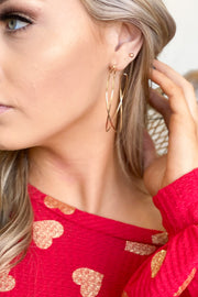 Sweet Statement Hoop Earrings - Shop Spoiled Boutique