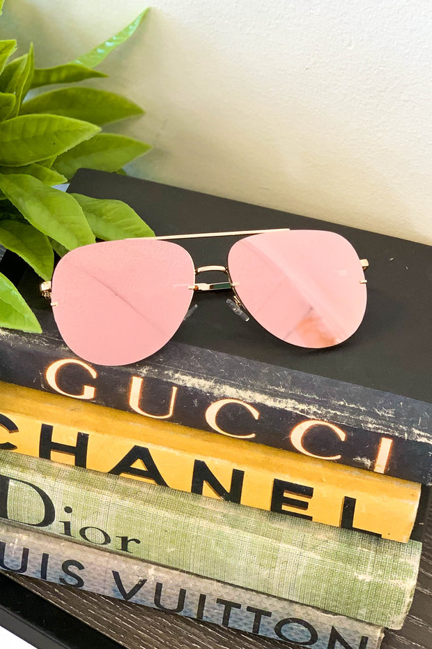 True Stunner Mirror Sunglasses - Shop Spoiled Boutique