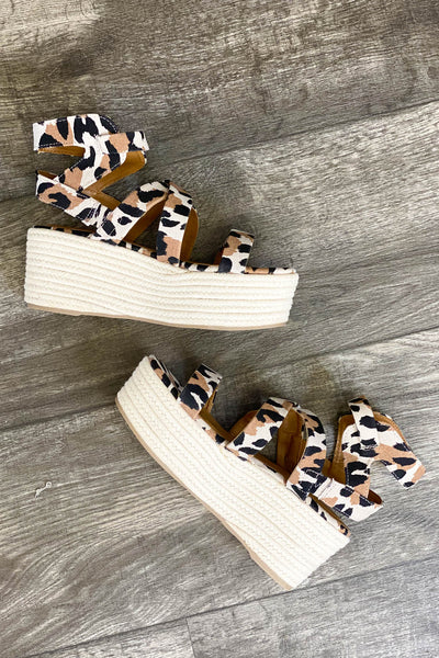 Spice Up You Life Leopard Platforms - ShopSpoiled