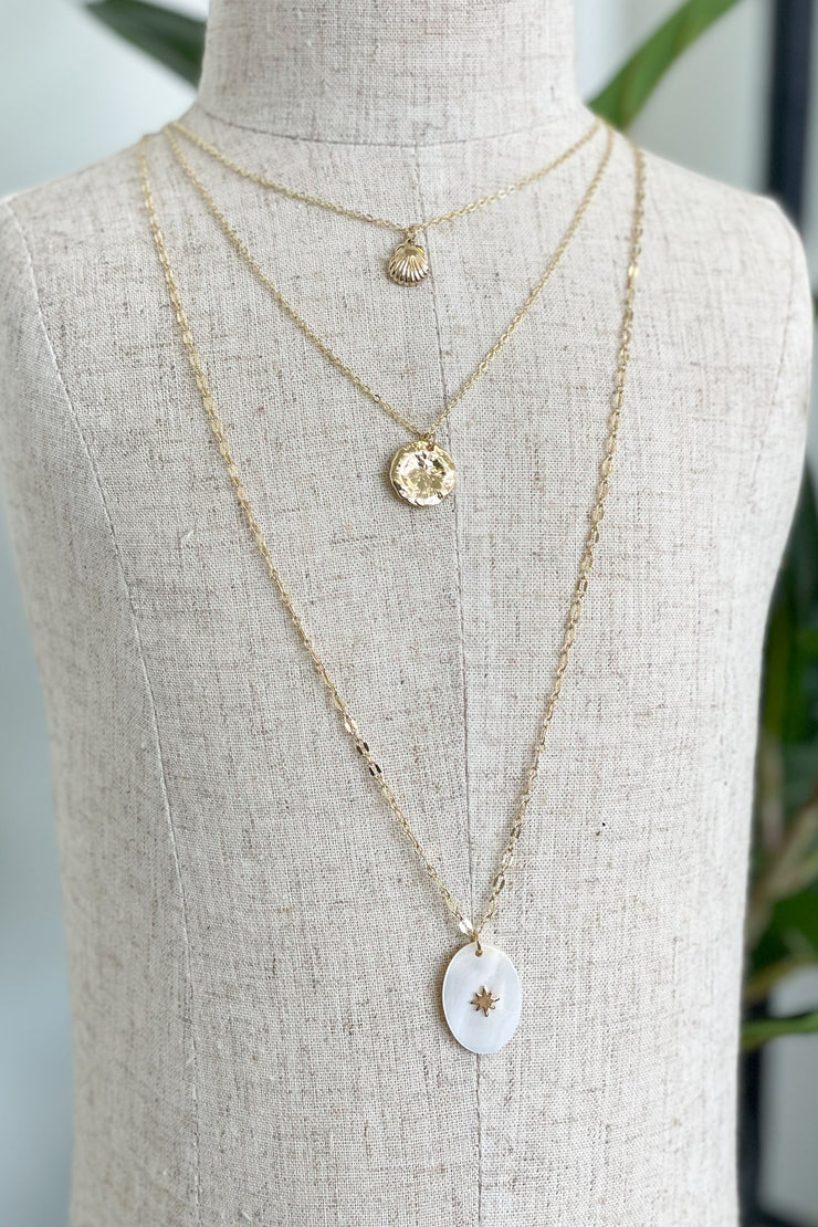 Love of the Light Layered Necklace - ShopSpoiled