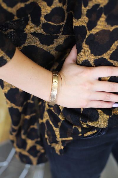 The Best Part Bracelet: Gold - Shop Spoiled Boutique