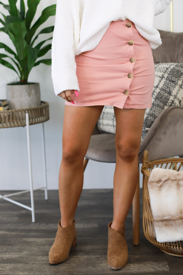 Love To Love You Skirt: Pink