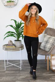 Be On time Sweater - ShopSpoiled
