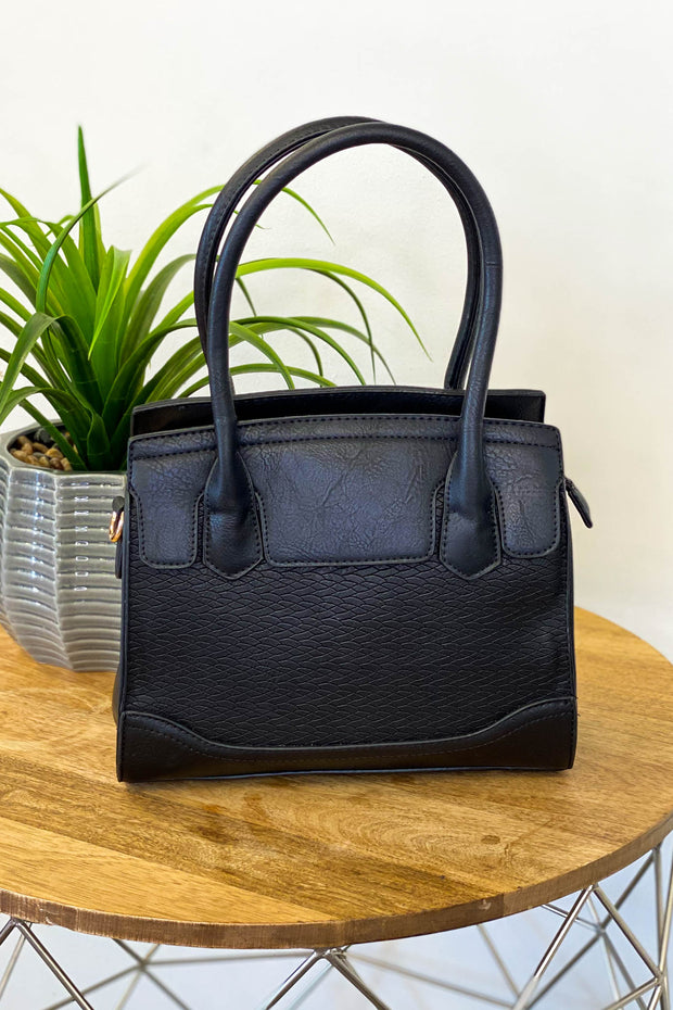 Mini Elene Handbag: Black - ShopSpoiled