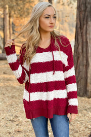 Happy Holidays Sweater: Red - ShopSpoiled