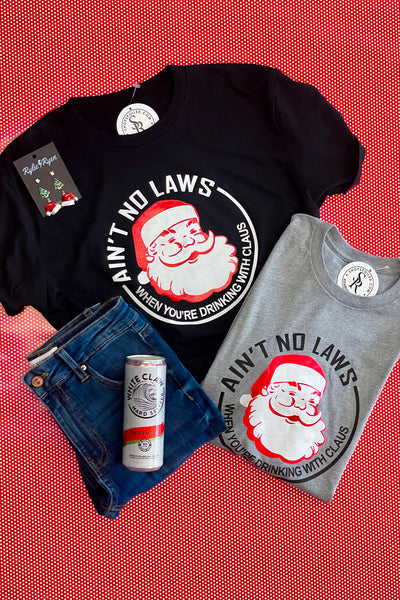 Ain't No Laws Tee: Black - ShopSpoiled