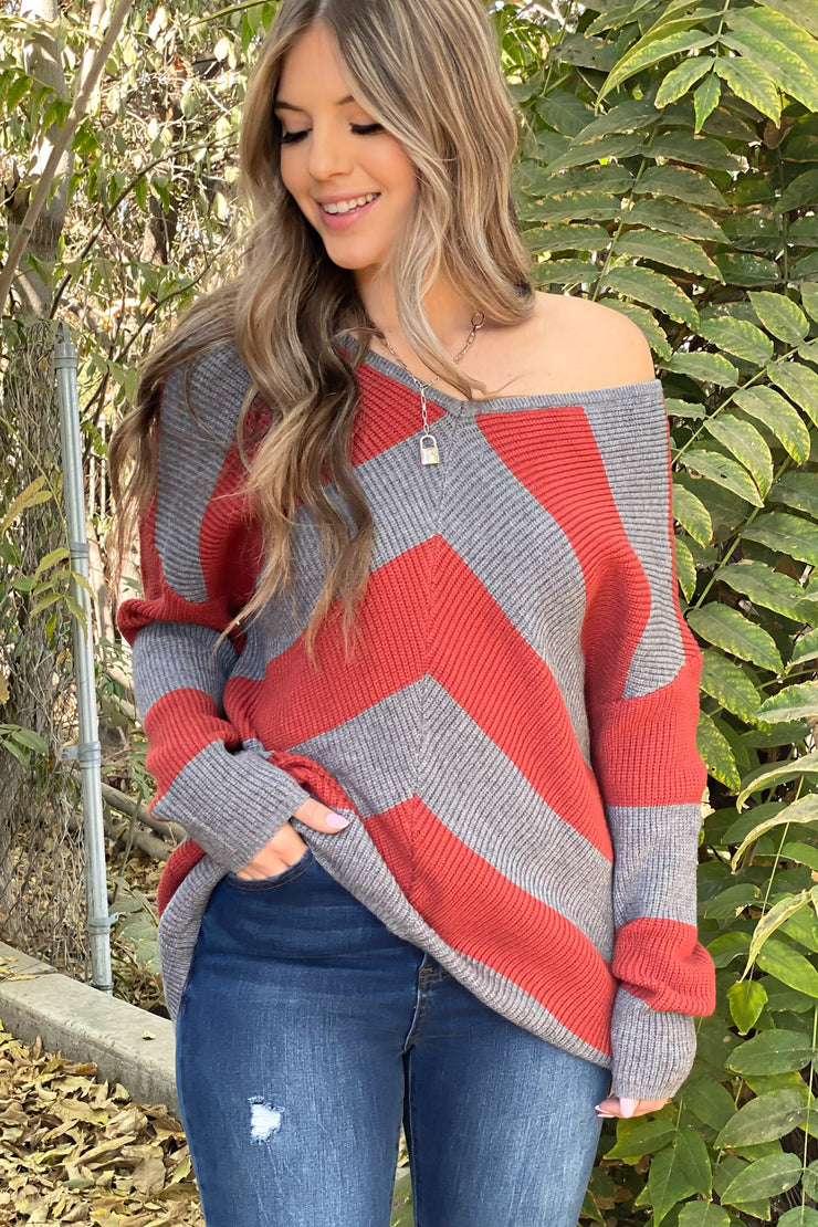 Falling Leaves Sweater - ShopSpoiled