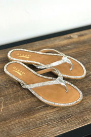 Honey Sandals: Silver - ShopSpoiled