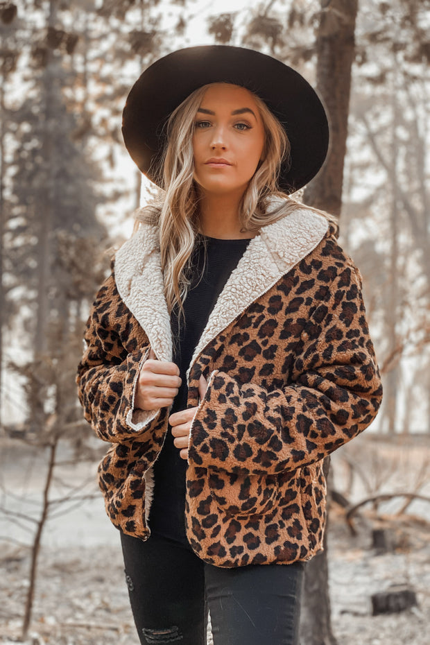 Kassadi Cheetah Jacket - ShopSpoiled