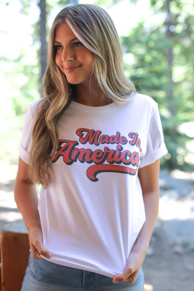 Made in America Tee - Shop Spoiled Boutique