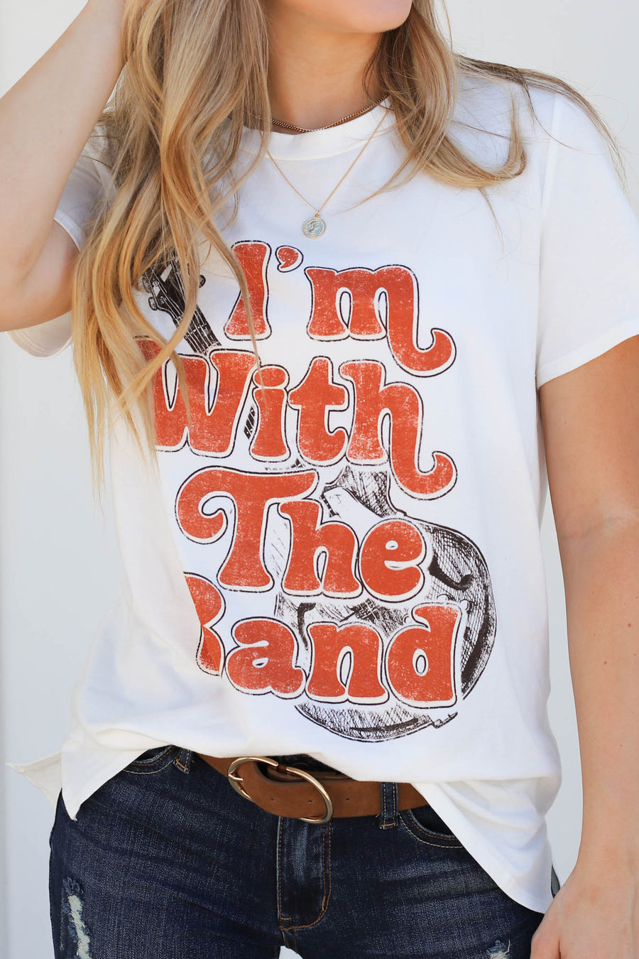 Im With The Band Tee - ShopSpoiled