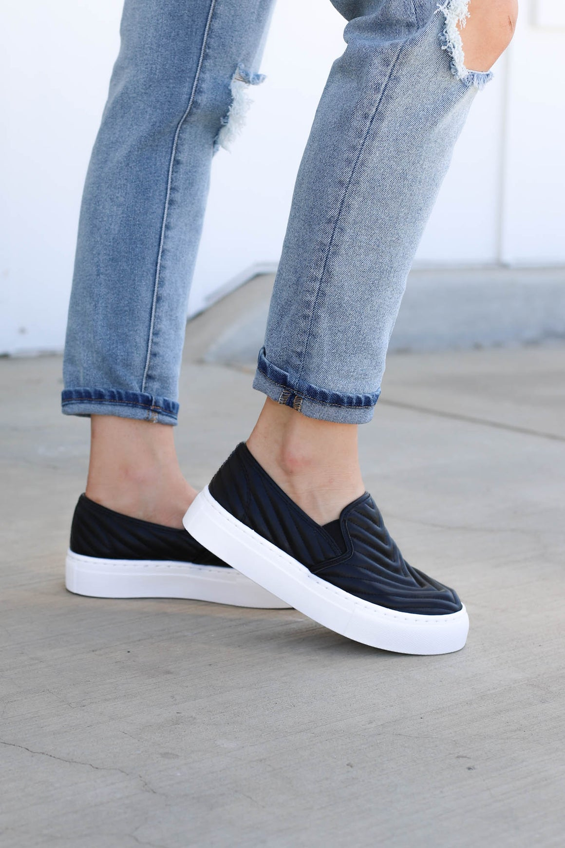 Royalty Slip Ons - ShopSpoiled