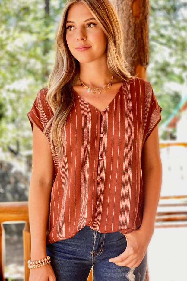 Go with the flow top - ShopSpoiled