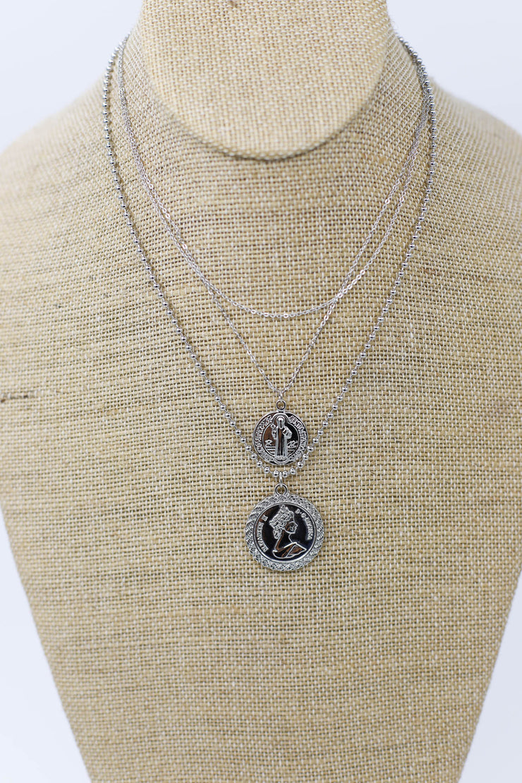 Valor Layered Coin Necklace - ShopSpoiled