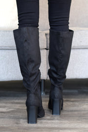 Off The Radar Boots: Black - ShopSpoiled